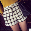 Fan child slim tweed small fragrant style fashion shorts Pants Trousers