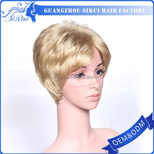 Feedback top quality noble hair product synthetic wig, top quality noble hair product short cut wigs, cheap indian pro-bond hair