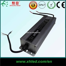 150W IP67 Outdoor Using waterproof electronic Constant Voltage LED AC DC 12v 24v power dimmable led driver