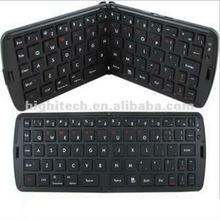 Foldable Folding Bluetooth wireless keyboard for iPad 3 4S iPhone Smartphones PC