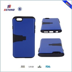 for iphone 6 case covers, 3 in 1 stand armor case for apple iphone 6 ,hard cover + soft TPU material case for iphone 6