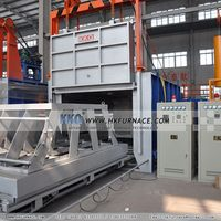 High efficiency low temperature bogie-hearth electric furnace for annealing