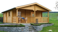 Eco-friendly Prefabricated Wooden House/Chalet
