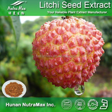 100% Natural Lychee Seed Extract , Lychee Seed Extract Powder , Lychee Seed P.E.