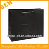 (BLF-PB257)black apparel packaging bags