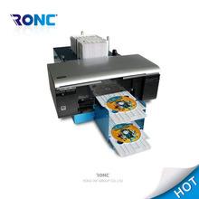Digital Auto desktop inkjet CD/DVD/PVC card printer for Epson L800 with 50pcs feeding