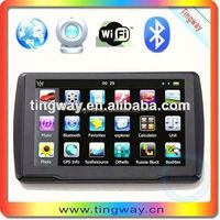 "Car 5"" GPS Navigation Bluetooth AV-IN 128MB RAM 4GB with West Europe Map"