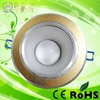 High Brightness ultra thin design 6w led ceiling recessed grid downlight square panel light 120mm