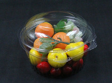 CPET disposable plastic airline food plate Fruit tray