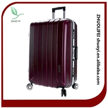 Factory direct trading spinner trolley luggage ABS&PC suitcase