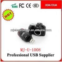 Cheap Camera Usb Memory Stick PVC Soft Gift Usb 2.0,Camera Shape Usb Pen Drive Mini