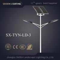 pole mount light street light- 150w 250 watt pv panel solar