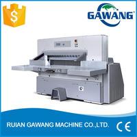 Digital Display Double Hydraulic Paper Guillotine Cutter Machine