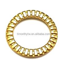 Top quality alloy ring garment metal ornaments