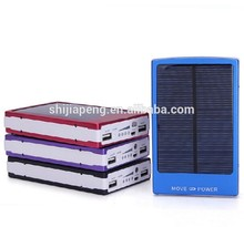 Original High Quality Free Cable Cheap Best Selling Solar Power bank External Portable Power pack 20000mah