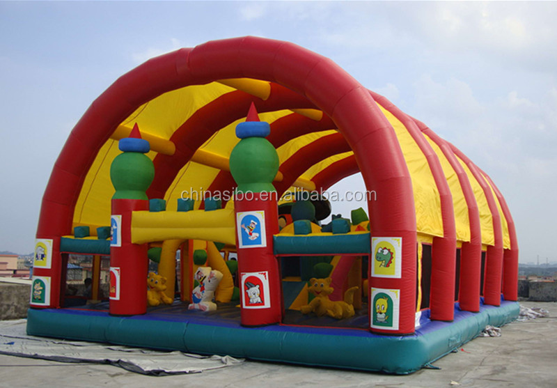 IC0014 SiBo newly design inflatable bounce castle for kids bouncing in outdoor playground