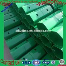 three waves highway guardrail powder coating spacer block