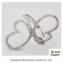 ad jewellery finger ring clock