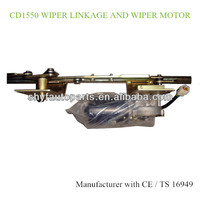 Middle Bus Front Windshield Wiper Linkage Assembly 1550MM Wiper Linkage