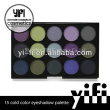 15 Cold Color Eyeshadow Palette makeup pen two way