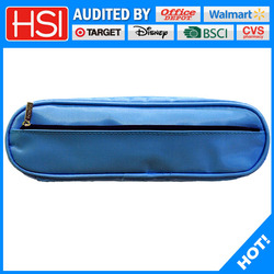 wholesale price multi color available polyester new design pencil pouch