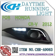 Auto accessories DRL car LED daytime running ligh For HONDAA CRV 2012