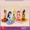 OEM Plastic Fairy Figurines, Lovely custom plastic toy, Princess Toy Figurines