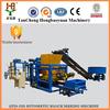 High quality qt4-25 block making machine full automatic concrete paver block machine