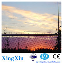 Hote sales Galvanized Chain Link Fence Parts, chain link dog fence, hot dipped galvanized chain link fence (Pd - 011)