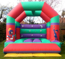 best selling inflatable adult looney tunes castle/ inflatable bounce house