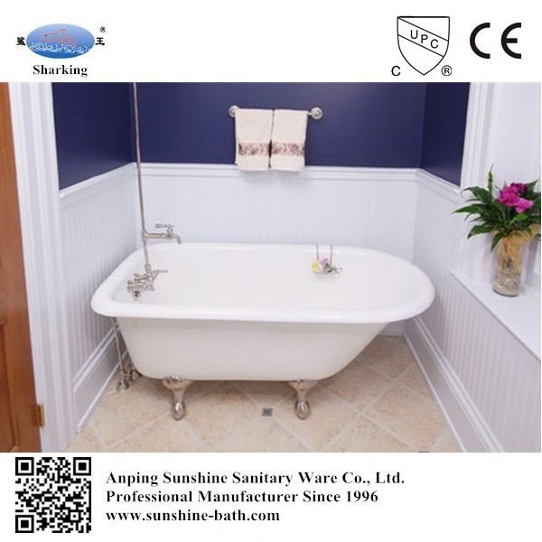 small bath tub for baby classical cast iron roll top