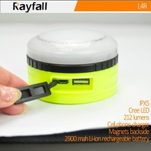 Factory supply led camping lantern with strong magnet