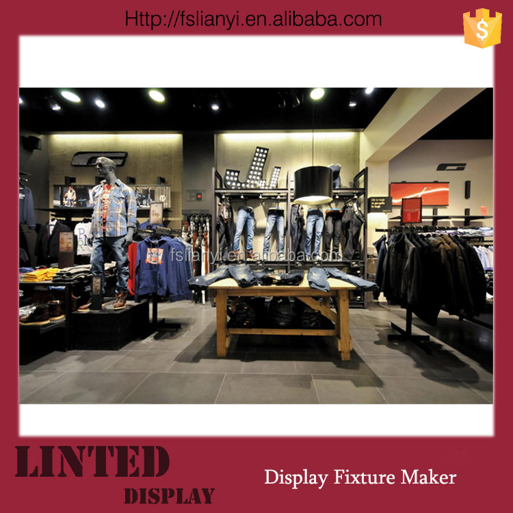 decoracao de interiores de lojas de roupas:Hot design de interiores loja / loja de montagem / loja de roupas