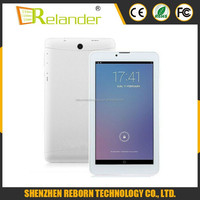 7 inch MTK8382 quad core tablet1GB/8GB android tablet pc with 3G