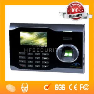 Hochgenaue Erkennung Smart Card Reader Biometrische Zeiterfassung Maschine HF-X628, USB-Kommunikation OK