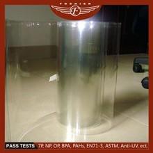 Customized transparent clear PET plastic cover