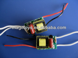 dimmable led driver 3x1W 260-350mA 9-12V