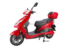 1500W Red Electric Scooter Electric Motorcycle