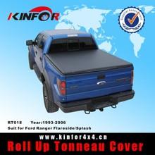 Soft Vinyl Roll up Tonneau Cover for Ford Ranger Flareside/Splash Model 1993-2006