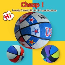 Official size and weight basketball size 3,custom rubber basketball balls