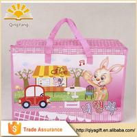 Cartoon handmade PP laminated non woven bag for shopper