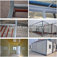 ISO 9001 luxury container homes/office