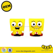 famous sponge baby toys safety yellow dolls promotional kids gifts vinyl toys producer