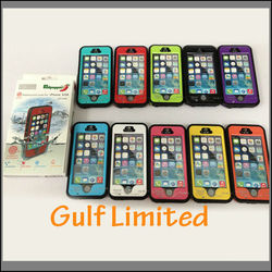 2015 Hot Selling Redpepper Waterproof Cases, Case For Iphone 5