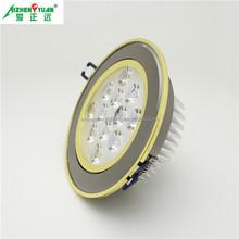 aluminum 3w 5w 7w 9w 12w 15w 18w 21w 24w cheapest led downlights