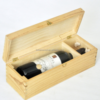 Plywood Wood Gift Boxes for Wine Glasses