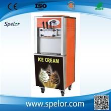 Lowest price floor sype ice cream freezer,yogurt ice cream machine made in China
