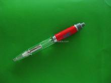 Custom electronic LED light ballpoint pen metal glow pen blue light gift pens for best promotional gift items
