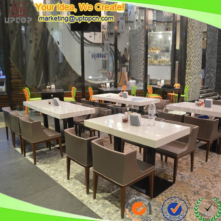 Chin s moderno de madeira usado mesas de restaurante e for Mesas para restaurante usadas