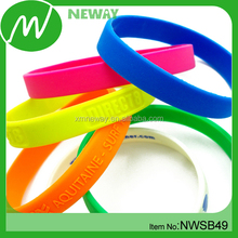 Custom Promotional Silicon Bracelet Thyme Oil Wrist Bands